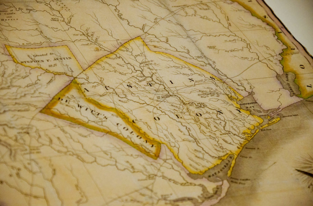 Texas A&M Acquires Stephen F. Austin's 1830 Map of Texas